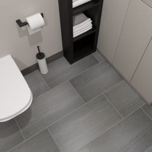 Avenel Gray Vein Cut Look Tile 12x24