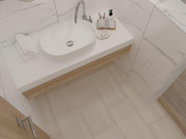 Avenel Ivory Vein Cut Look Tile 12x24