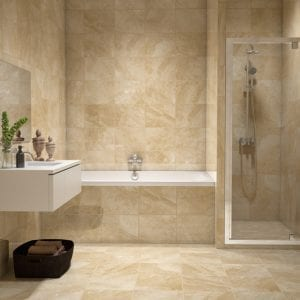 Bakersfield Wicker Beige Stone Look Tile