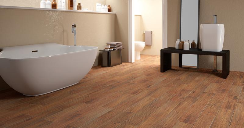 Berkshire Florida Tile Wood Look Bathroom Tile