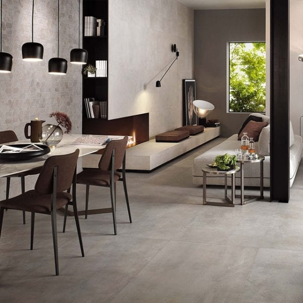 Boost Pearl Greige Concrete Look Tile