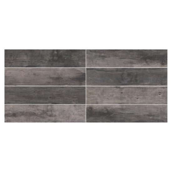 Cellar Char Wood Look Plank Tile