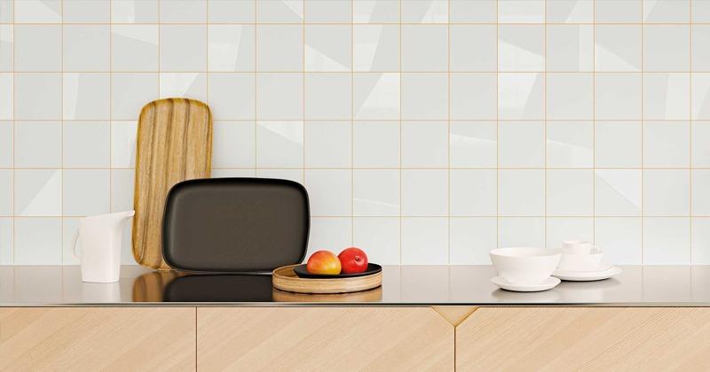 Duo Kitchen Backsplash Tile by WOW