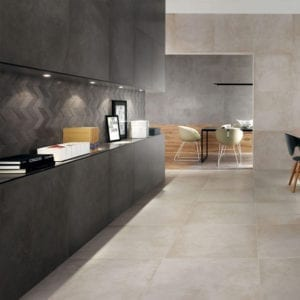 Dwell Pearl Concrete Cement Look Tile 12x24