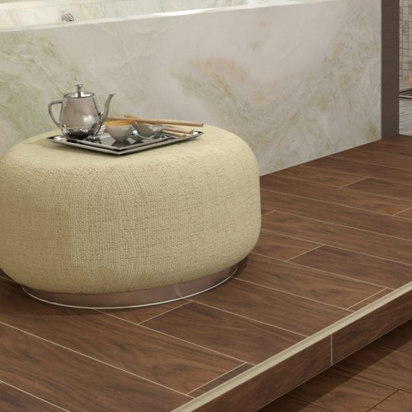 Etic Palissandro Wood Look Plank Tile