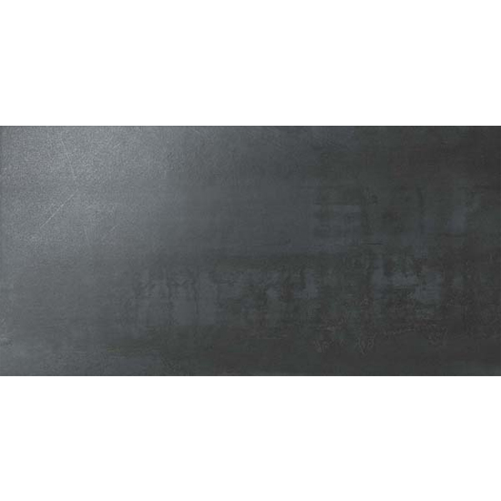 Forge Steel Cement Concrete Look Tile 12x24 Gray Black