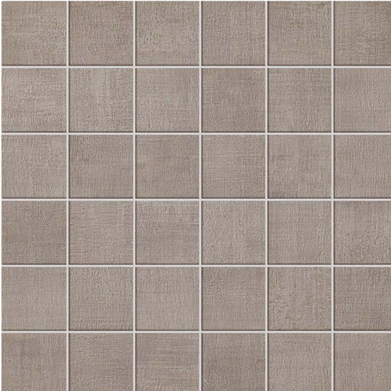 Fray Gray Fabric Look Tile 2x2 Mosaic
