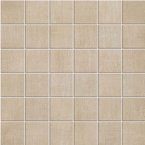 Fray Sand Fabric Look Tile 2x2 Mosaic