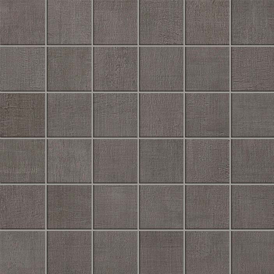 Fray Smoke Fabric Look Tile 2x2 Mosaic