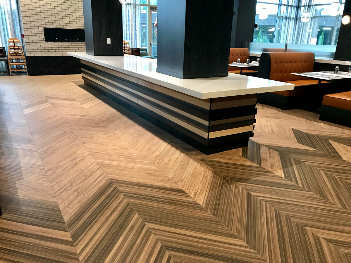 Atlas Concorde Hotel Commercial Tile Project Tennessee