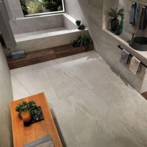 Klif White Stone Look Tile