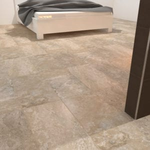 Laurel Heights Elevated Beige Marble Travertine Look Tile 12x12 12x24 Mosaic