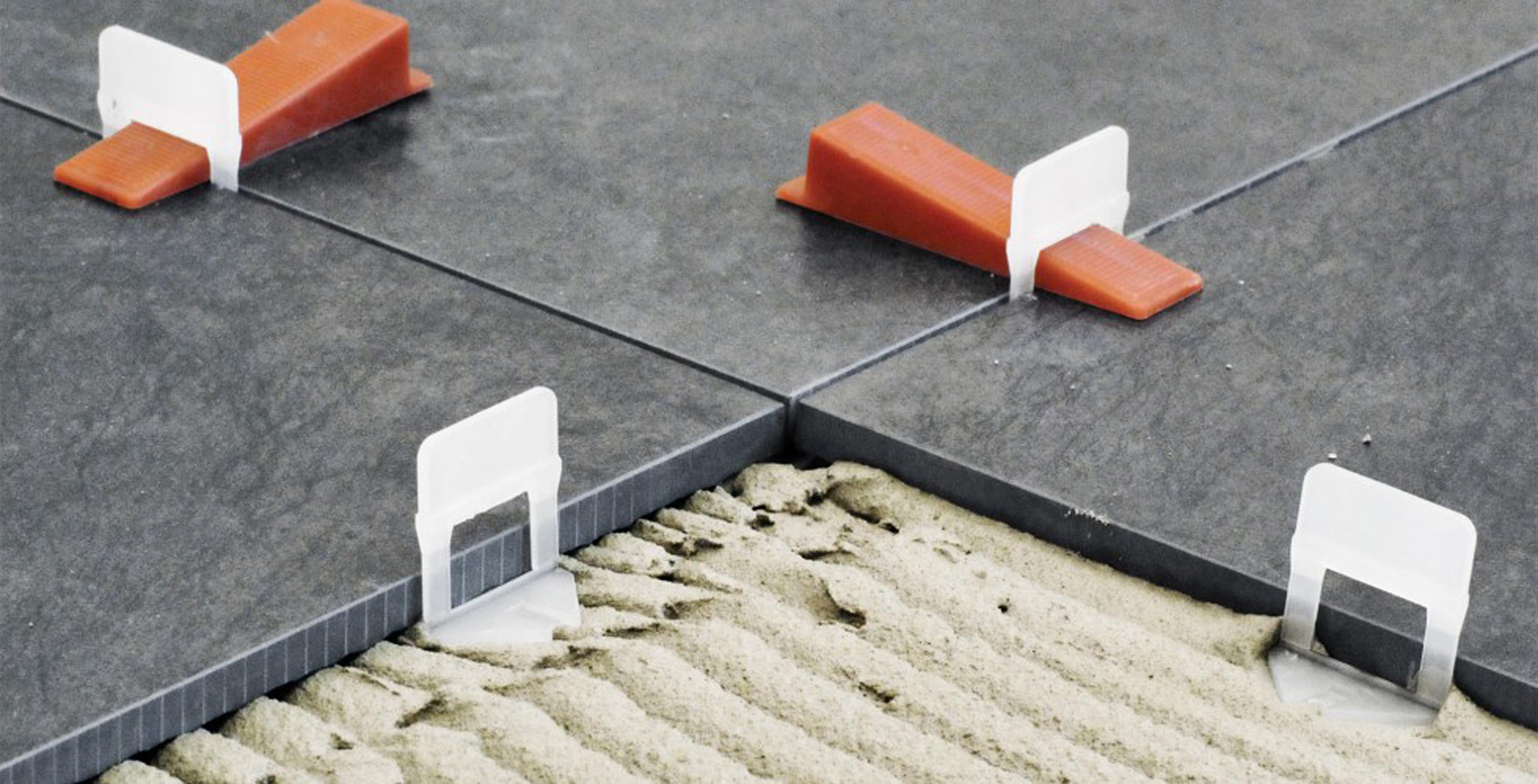 Tile Leveling System Installation