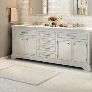 Liberty Calacatta Centennial White Marble Look Tile