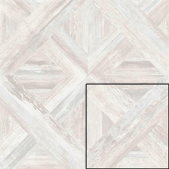 Loft Ivory Wood Look Decorative Tile