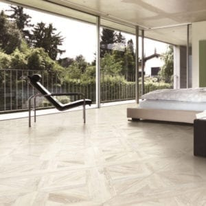 Loft Ivory Wood Look Decorative Tile