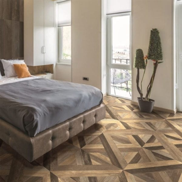 Loft Multicolor Wood Look Decorative Tile