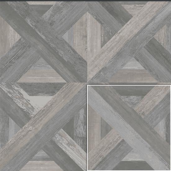 Loft Smoke Wood Look Decorative Tile