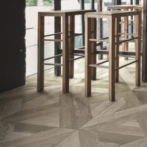Loft Smoke Wood Look Decorative Tile