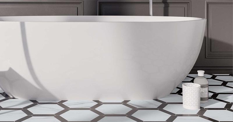 Love Affair Bathroom Floor Tile by WOW