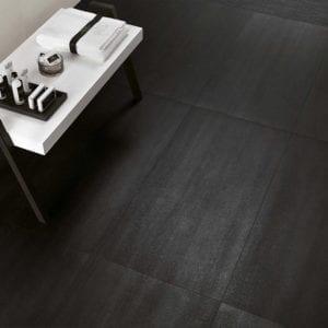 MEK Dark Contemporary Look Tile 12x24 Prisma Mosaic Black