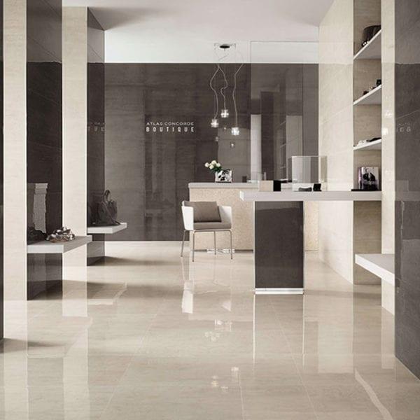 Mark Gypsum Concrete Cement Look Tile 12x24
