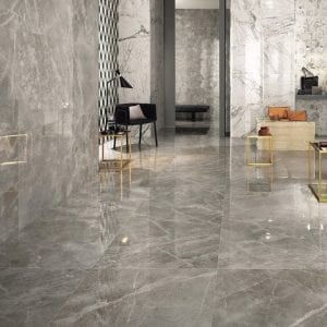Marvel Pro Travertino Silver Grey Greige Marble Look Tile