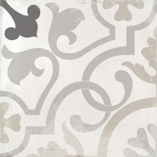 Nola Layafayette Cement Trendy Look Tile 8x8 Patterned