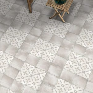 Nola Toulouse Cement Trendy Look Tile 8x8 Patterned