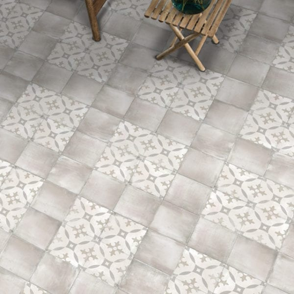 Nola Toulouse Cement Trendy Look Tile 8x8 Patterned