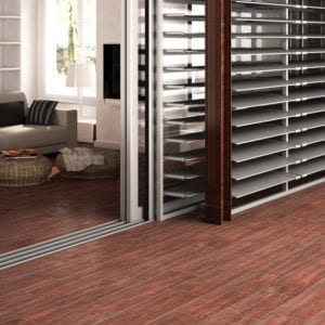 Natura Cayman Red Wood Look Plank Tile