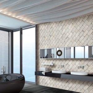 New York Greenwich Village 4x8 Brick Trendy Look Tile
