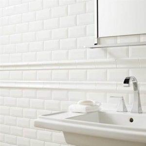 Profiles Ice White Subway Tile 3x6
