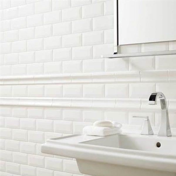 Profiles Ice White Subway Tile 3x6
