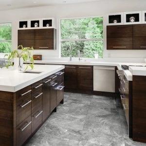 Regency Carbon Gray Stone Look Tile