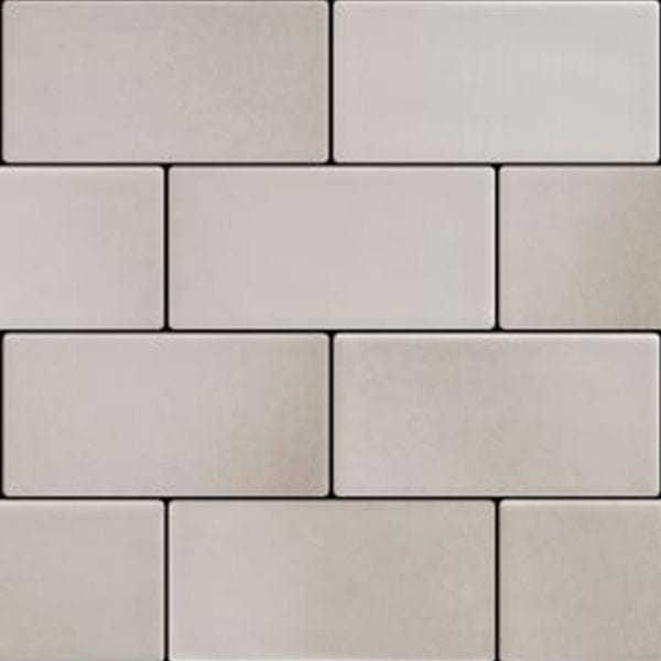 Retroclassique Subway Wall Tile Silver Gray