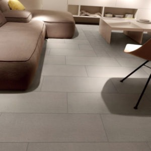 Rhyme Almond Note Beige Fabric Look Tile