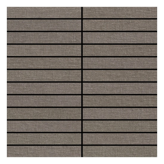 Rhyme Stone Chamber Brown Fabric Look Tile