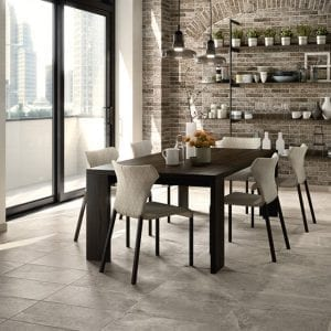 Ridge Greige Stone Look Cream Tile