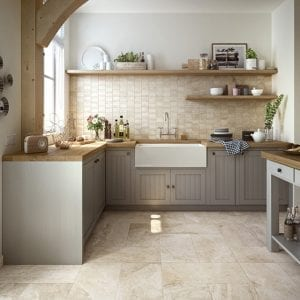 Ridge Ivory Stone Look Tile