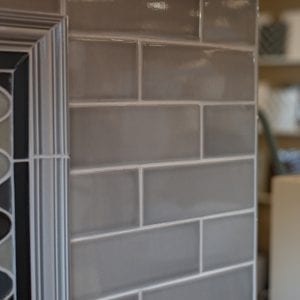 Stellar Rainstorm Gray Subway Wall Tile