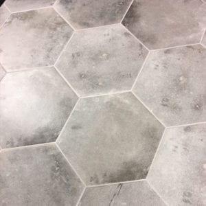 Terra Hexagon Trendy Trend Look Tile Hex Grigia Gray Beige
