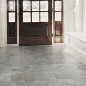 Tuscan Villa Florence Silver Gray Stone Look Tile