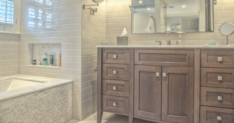 Jeffrey Court Vintage Studio Bathroom Tile