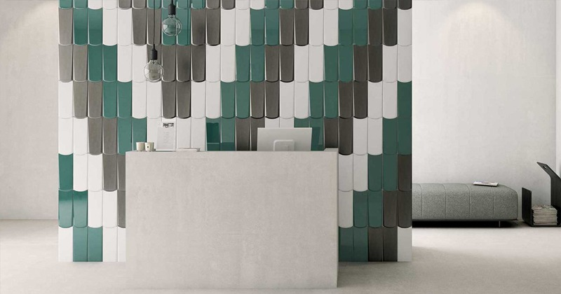 Commercial Restaurant Tile Inspiration by WOW Design