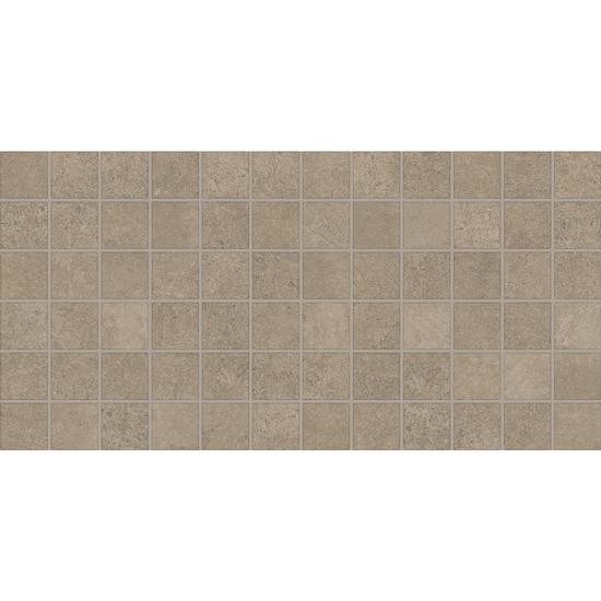 Windmere Irish Brown Cement Concrete Look Tile 2x2 Mosaic
